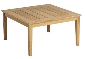Table basse en Roble 80 X 80 cm