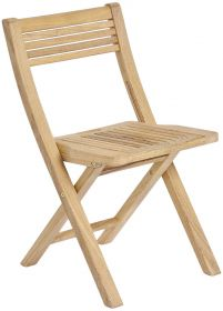 Chaise pliante en Roble FSC