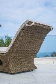 Bain de soleil confort San Marino avec coussin
