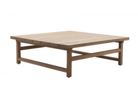 Table basse teck Julian carrée