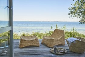 Fauteuil et repose pieds Chill Outdoor